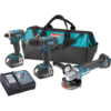 Makita 18V LXT® Lithium-Ion Cordless 3 Pc. Combo Kit (3.0Ah)