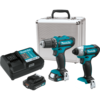 Makita 12V max CXT Lithium-Ion Cordless 2 Pc. Combo Kit (2.0Ah)