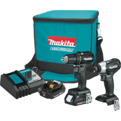 Makita 18V LXT® Lithium-Ion Sub-Compact Brushless Cordless 2 Pc. Combo Kit (2.0Ah)
