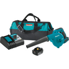 Makita 18V LXT® Lithium-Ion Cordless Blower Kit, with one battery, bag (5.0Ah)