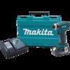 Makita 18V LXT® Lithium-Ion Cordless Impact Driver Kit, var. spd., rev., L.E.D. Light, case, 1 ea. battery (3.0Ah)